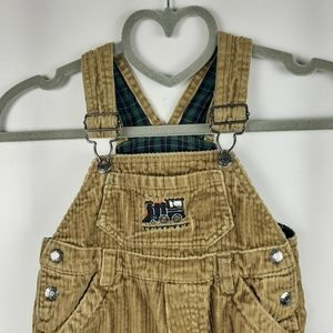 The Childrens Place Corduroy Boys Overalls 12M
